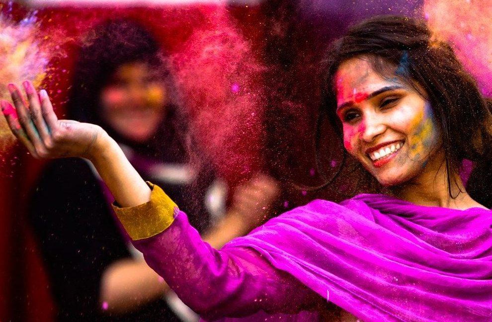 Holi, the colors festival